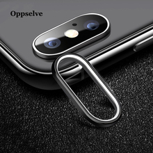 hot deal buy oppselve metal rear lens protective ring for iphone x 8 7 plus camera lens screen protector for iphonex mobile phone accessories