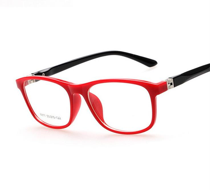 2015 tr90 children optical frame eyewear wholesale eyeglasses 7 colors double color sports style girls boys