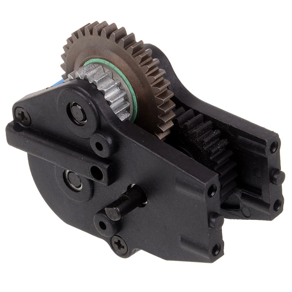 RC car 1/10 HSP 08063 speed reducer with metal Diff. Gear Box For 1/10 4WD RC Model Car Monster 94188 hsp 02024 differential diff gear complete 38t for 1 10 rc model car spare parts fit buggy monster