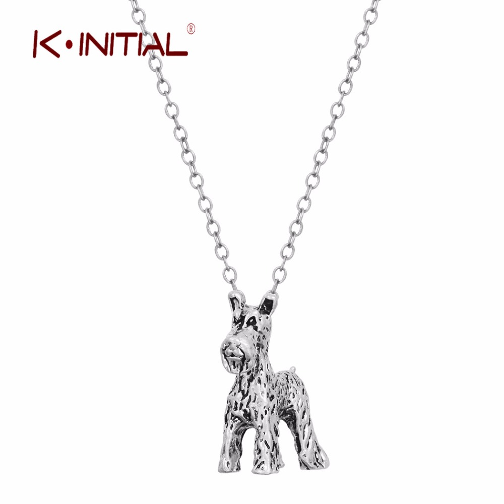 Kinitial 30pcs 3D Realistic Retriever Animal Dog Breed Charm Necklace Pendants Women Ani ...