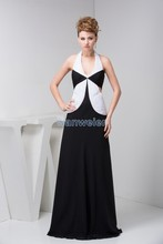 free shipping 2014 new design gossip girl dresses hot sale halter pleat custommade size/color luxury real photo Cocktail Dresses