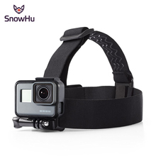 Elastic Adjustable Head strap Mount Belt With Anti slide Glue Mount for Gopro Hero 4 3 Xiaomi yi Sport Action Camera Accessories цена