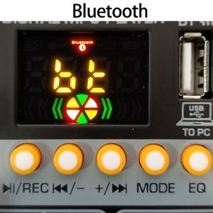 Image 4 - AM G05 Bluetooth USB Record PC Playback Record 4 Channels Guitar Input 2 Mono 1 Stereo Professional USB Audio Mixer