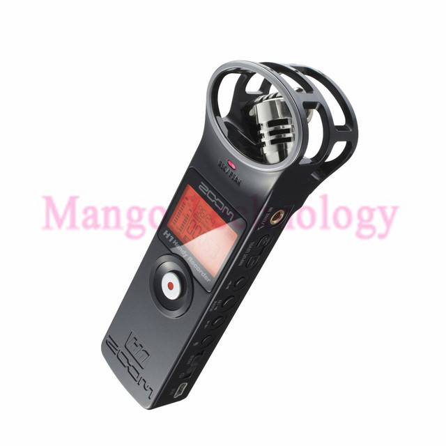 New H1 professional protable Handheld Stereo recording pen for Interview SLR recording microphone Digital Recorder