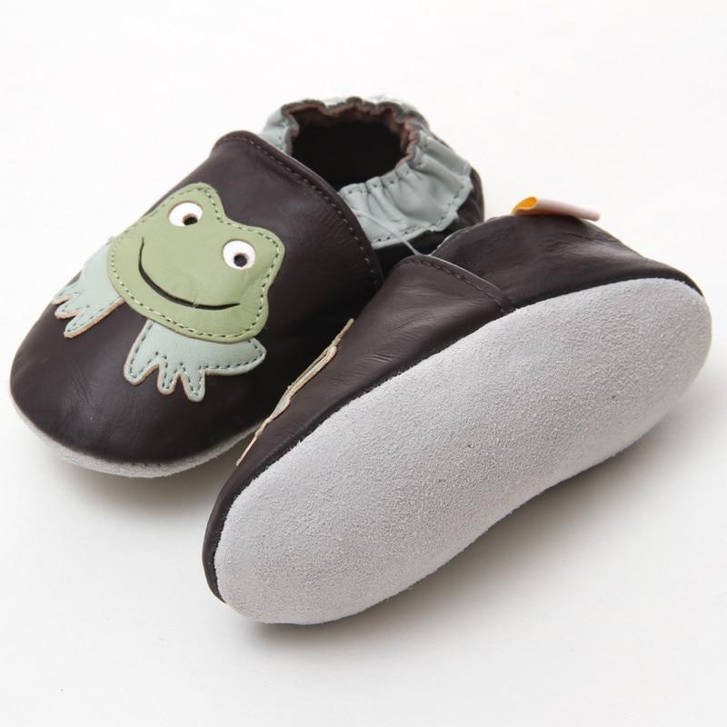 Leder Baby Mokassins Tier Baby Kinder Schuhe Junge Säuglingsschuhe - Babyschuhe - Foto 2