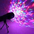 Battery Powered LED RGB Дискотека этап свет Лампы LED Этап Эффект освещения НОМИНАЛЬНОЙ Стороны Света для DJ Show Домашних Развлечений КТВ