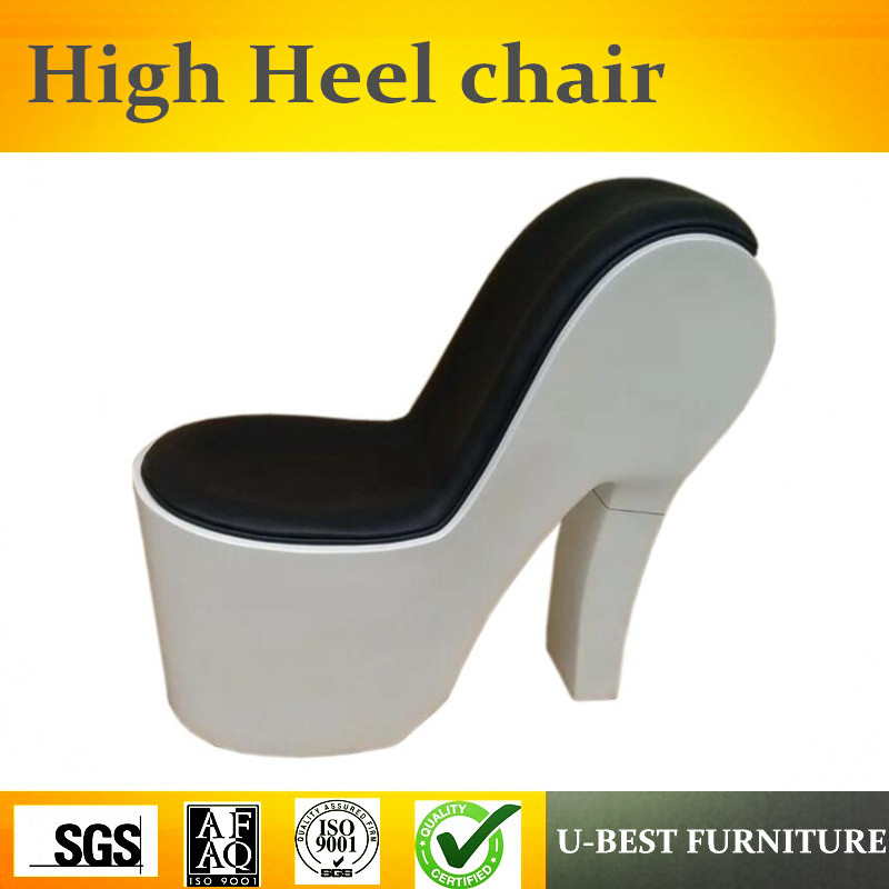 U-BEST Sex shoe high heel sofa chair,indoor fiberglass shoe shape chair for leisureU-BEST Sex shoe high heel sofa chair,indoor fiberglass shoe shape chair for leisure