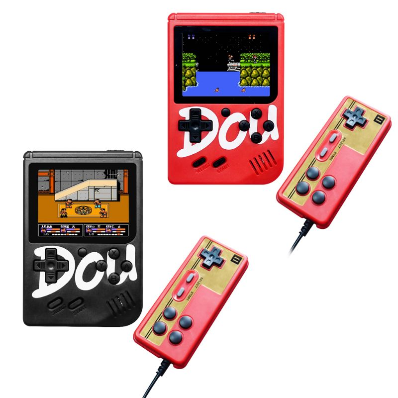 1 Set Built-in 850mAh Battery 360 Games Vintage Mini Handheld Game Player 3 Inch Colorful Screen Game Console Gamepad