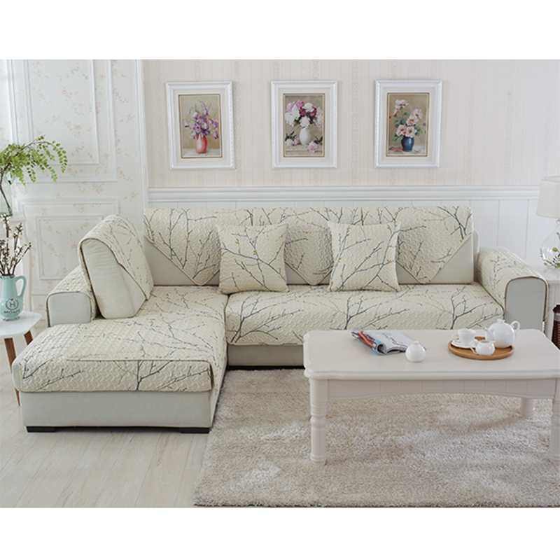 100%Cotton Sofa Cover Set Sectional Slip Cover Sofas Modern Magical  Sofa-cover Corner Towel Fabric Double Towel Sofa 90*90 Towel