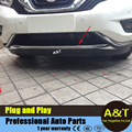 1 pcs car styling For Nissan Murano 2015-2016 model high quality chrome Front bumper protection decorative strip Car Accessories