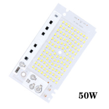 diy ic 10W 20W 30W 50W 100W LED Bulb Chip SMD2835 Bead Smart IC AC220V DIY for Outdoor Floodlight Cool White Warm White for DIY