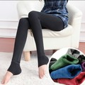 Cashmere Leggings Meninas Inverno Quente Leggings Mulheres Faux Velvet Malha Grosso Magro Super Elastic Leggings Pants 2016 Hot Sale