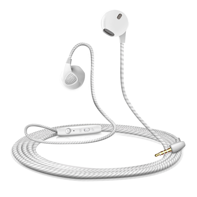 In-Ear Earbud Earphone HiFi Stereo Metal Headset with Mic for Meizu MX3 MX6 M3s M5s U10 M5 fone de ouvido langsom m45c metal in ear earphone headphone stereo hifi phone earphones with mic headset for iphone xiaomi fone de ouvido mp3