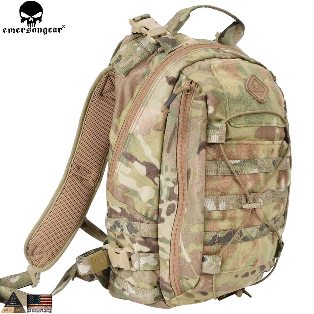 Emersongear Assault Backpack Removable Operator Pack molle backpack military equipment hunting bag EM5818 Multicam mc highlander emersongear lbt2649b hydration carrier for 1961ar molle backpack military tactical bags hunting bag multicam tropic arid black
