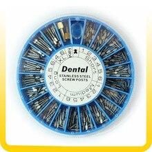 Vis en acier inoxydable, 120 pièces, 2 pièces, fournitures dentaires, livraison gratuite