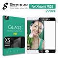 [2 упаковки] 100% оригинал Seyisoo полное покрытие закаленное стекло протектор экрана для Xiao mi 5S Xio mi 5S mi 5 S 2.5D 0,3 мм 9H пленка
