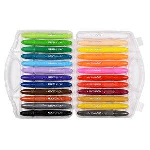 Image 3 - CONDA المهنية الوجه قلم طلاء 24 ألوان غير سامة الجسم أقلام شمع هالوين زي حفلة تنكرية الجمال ماكياج أدوات