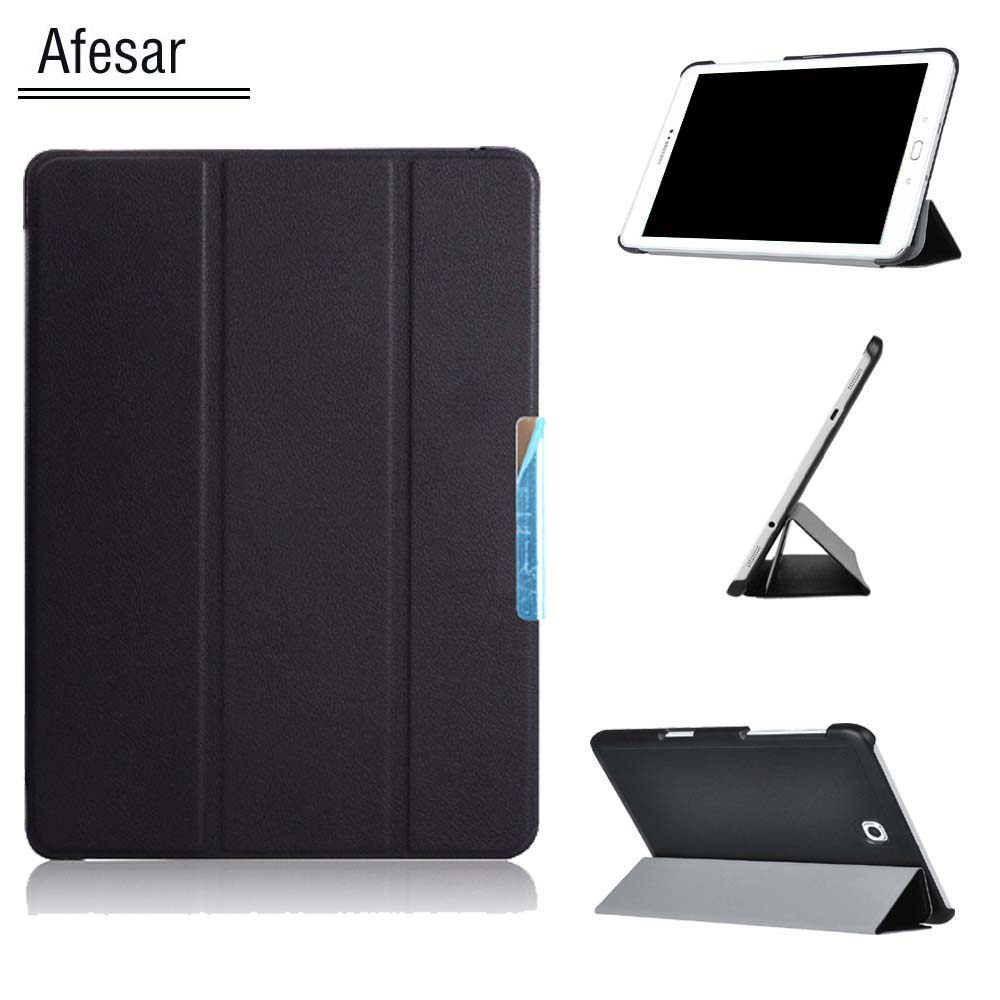 New SM-T810 T815 Ultra Magnetic Smart Flip Case Cover for Samsung Galaxy Tab S2 9.7 SM-T813 T819 Tablet with Stand Auto Sleep Aw flip back stand cover case for samsung galaxy tab 4 10 1 tablet case pocket sm t530 t531 pu leather cover pouch with auto sleep