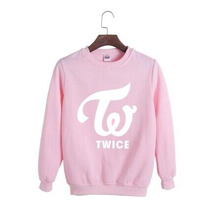 Kpop home TWICE DaHyun Momo Sana Mina Ji Hyo Na Yeon Fashion sweatershirt suit spring Autumn long sleeve hoodies