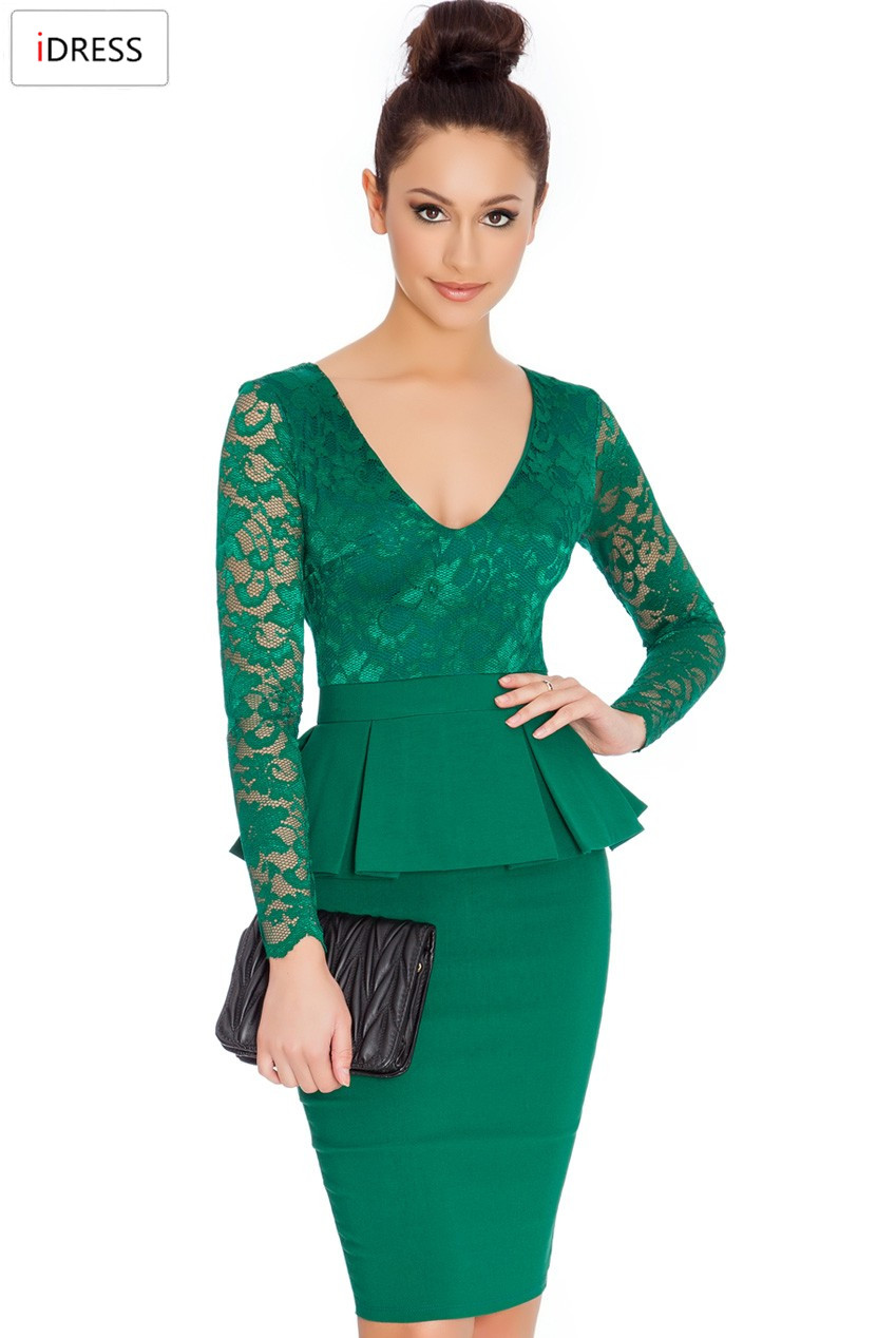 Aliexpress.com : Buy IDress Women Work Dresses 2016 New ...