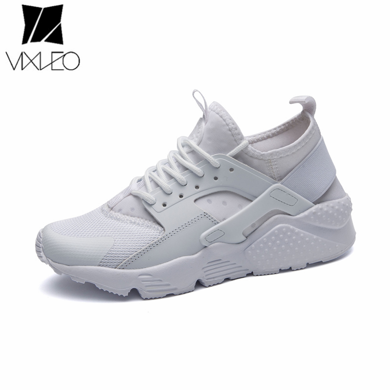 VIXLEO Free Shipping 2018 New Arrival sneakers Men Women White Red Black Unisex running shoes For Sale air mesh Size 36-47