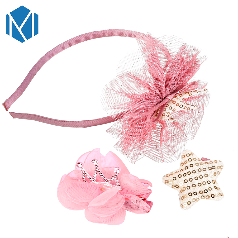 Girl's Hair Accessories Girl's Accessories M Mism Novelty Shiny Crown Hair Clip Girl Hair Accessories Grid Yarn Tiara Bow-knot Hairpins Children Headwear Lovely Hairgrip Fixing Prices According To Quality Of Products