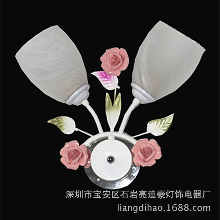 TUDA simple LED Double Wall Hotel bedside lamp wall decoration lighting wholesale rose garden factory outlets modern lamp trophy wall lamp wall lamp bed lighting bedside wall lamp