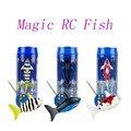 NO.3310B Tiburón RC Juguete RC Juguetes de Radio Control de Velocidad De Alimentación 2.4 V Modelo RC 3CH Plástico Peces Juguetes Al Aire Libre para niños