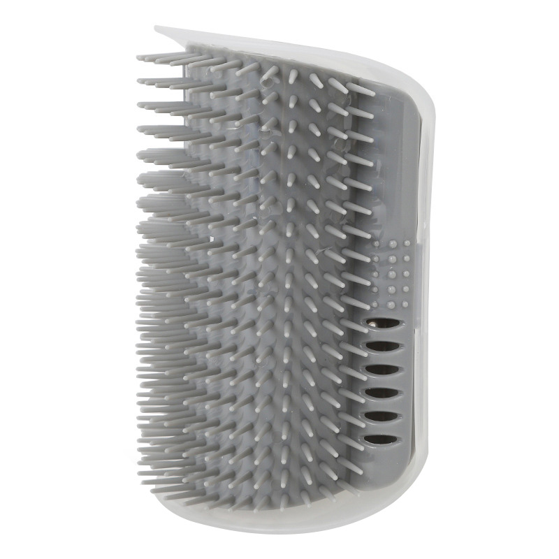 Corner Cat Self Grooming Brush Fixed in Wall for Pet Cat to Self Combing Massaging and Scratching 5