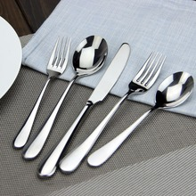 Rose Gold Plated Stainless Steel Flatware Set (2 Spoon + Fork Knife) Mirror Polishing