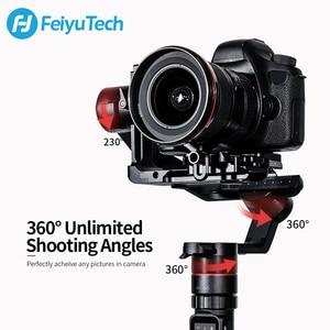 Image 3 - Gimbal FeiyuTech AK4000 3 Axis el Gimbal kamera sabitleyici dslr Sony Canon 5D Panasonic D850 pk dji ronin s