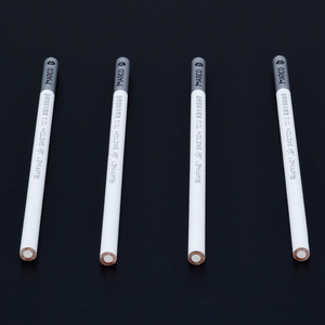4 Pieces Sketch Pencil White Pencil White Pastel Special Charcoal Drawing Sketch Pencil Non-toxic Art Crafts Mayitr