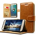 Jisoncase For Samsung Galaxy S7 G9300 S7 Edge G9350 Case Genuine Leather Card Slot Wallet Cover Phone Case