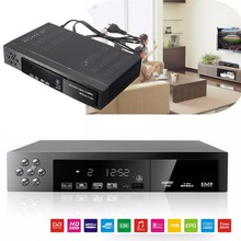 HD 1080P DVB T2 S2 COMBO Set Top Box EU Plug Satellite TV Receiver with Remote