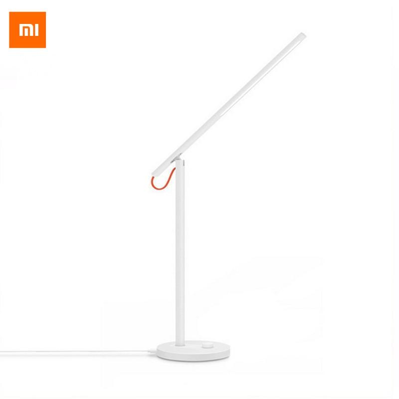 Lampe de bureau originale Xiaomi Mijia LED lampes de Table intelligentes bureau Xiaomi lumière LED étude Support téléphone portable App télécommande