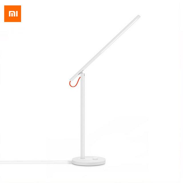 Original xiaomi lámpara de escritorio mijia xiaomi desklight llevó la luz de estudio lámparas de mesa led inteligente ayuda del teléfono móvil de control remoto app