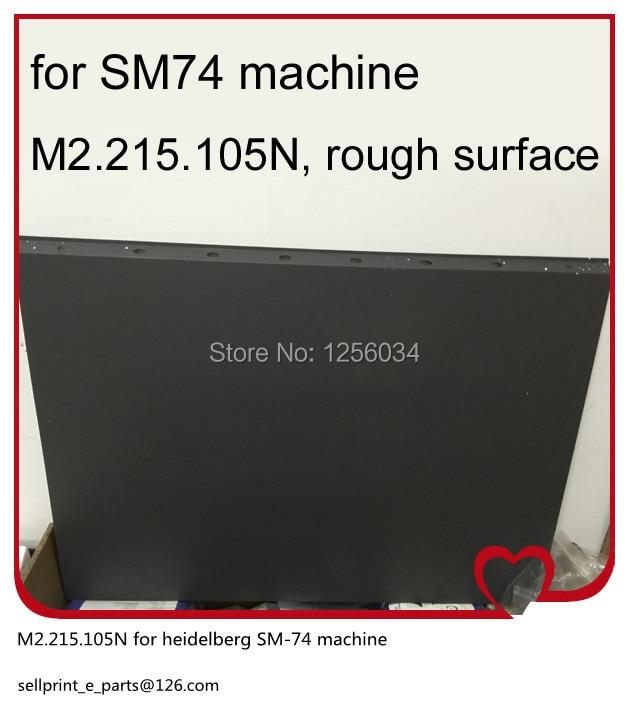 2 pieces m2.215.105n sm74 Rough Surface cylinder jackets, heidelberg sm-74 machine parts