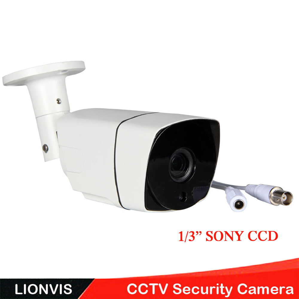 900TVL 1/3''SONY CCD Security Camera 36 LED Color IR Night Vision 960H Surveillance CCTV Camera Home Outdoor Waterproof Camera 1 3 ccd waterproof surveillance security camera w 36 ir led night vision purple