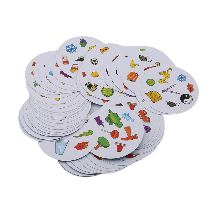 Billede af Spot It Dobble Find It Board Game for Children Funny with Family Gathering Good Paper Quality Card Game Develop Kid's Learning