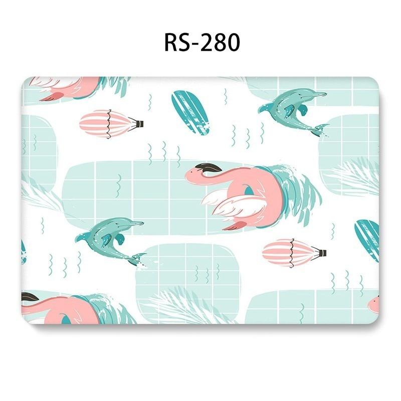 שליכט אקרילי Case Unicorn Cartoon חמוד ל- MacBook Air 11 2018 13 אינץ Pro 13 15 Retina 12 13 15 Hard PVC Case A1369 A1425 A1370 1465 Funda (3)