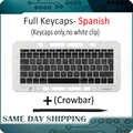 Laptop A1706 A1707 A1708 Spanisch Spanien Tastatur Schlüssel Kappe für Macbook Pro Retina 13