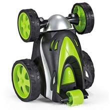Funny Mini RC Car Remote Control Toy Stunt Car Monster Truck Radio Electric Dancing Drift Model Rotating Wheel Vehicle Motor цена 2017