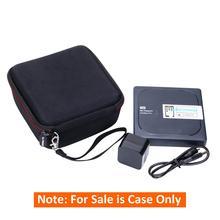 LTGEM Storage Case for WD 1TB, 2TB, 3TB, 4TB My Passport Wireless Pro Portable External Hard Drive -Travel Protective Carry Bag