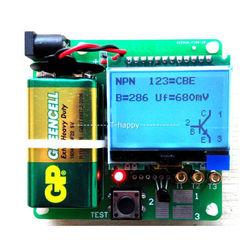 2015 التلقائي كشف الرقمية كومبو MG328 متعددة الوظائف الترانزستور اختبار مغو مكثف ESR متر صمام ثنائي ثلاثي المسار MOSFET المرأة
