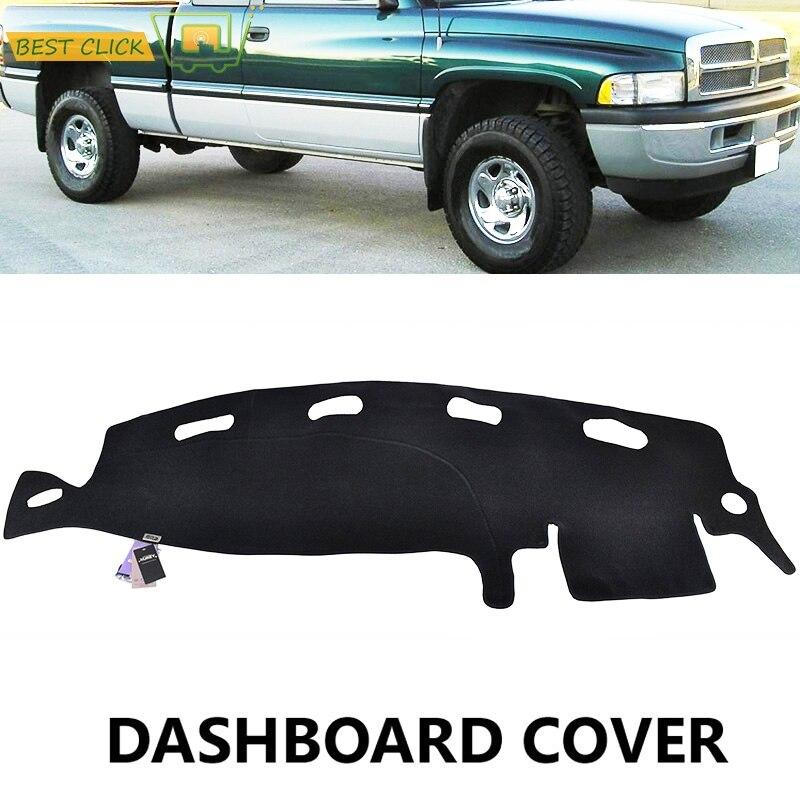 Dashboard Cover Dashmat Dash Mat For Dodge Ram 1500 2500 3500 1998 1999 2000 2001 Board Pad Sun Shade Carpet