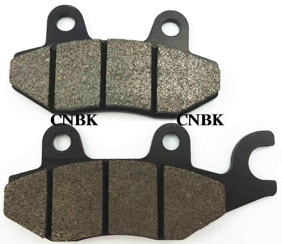 F + R Brake Pad Set Cocok untuk Honda 125 XL V1-A Varadero XL125 2002 2003 2004 2005 2006 2007 2008 2009 2010 2001-2011 Depan Belakang