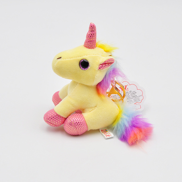 Cute Unicorn Keychain Plush Toys