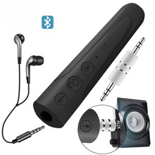 Vacusg 3.5mm Aux V4.1 Bluetooth Audio Receiver Adapter Handsfree MP3 Music Sports Car Kit Z2