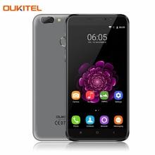 OUKITEL U20 Plus 5.5 pouce 1920×1080 4G LTE Téléphone Portable Android 6.0 Octa base 2G + 16G 13.0MP Dual SIM Carte D'empreintes Digitales Smartphone