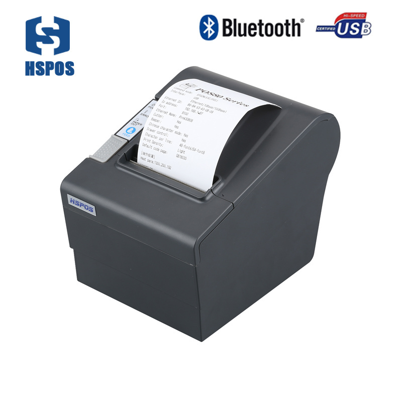 high performance Bluetooth 80mm Thermal Receipt Printer Low power consumption and low operating costs KL80UAI